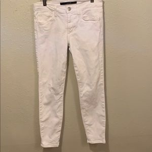 Joe jeans skinny white pants